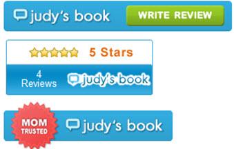 Judy's Book Logos