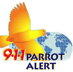 911 Parrot Alert